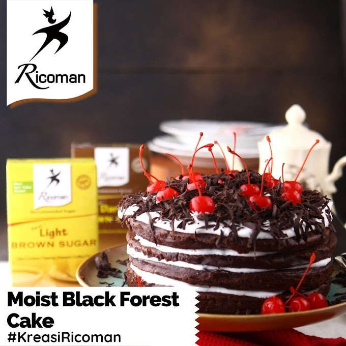 [RESEP] Moist Black Forest Cake