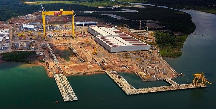 Estaleiro Enseada, na Bahia recebe licença definitiva para operar como porto