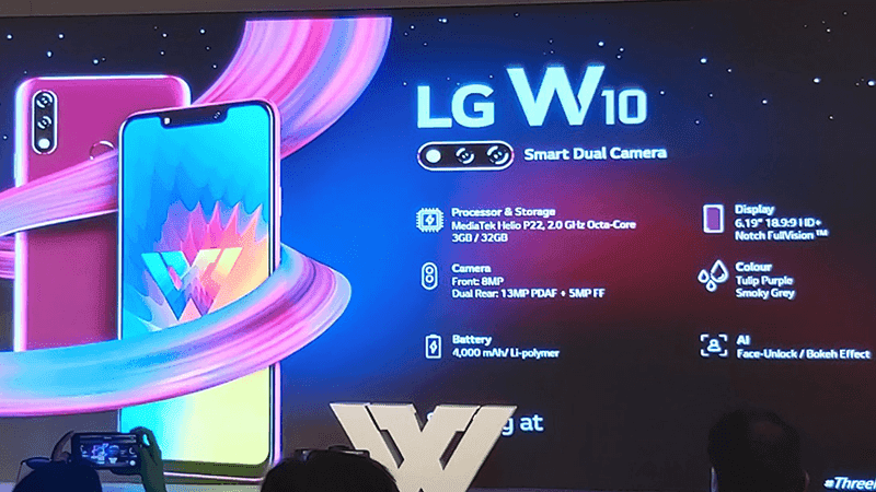 LG releases W10 and W30 ultra-competitive budget phones!