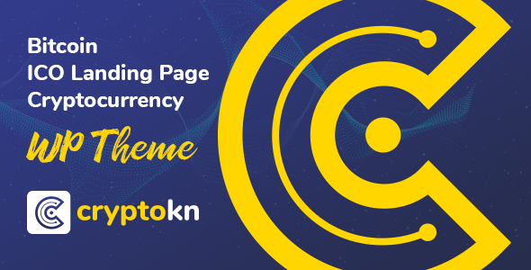 Cryptokn v1.1.1 - ICO Landing Page & Tiền điện tử