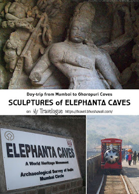 Elephanta Caves UNESCO Gharapuri Pinterest