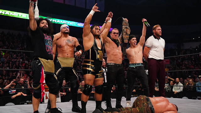 """""""Inner Circle vs. The Elite"""" é anunciado para o AEW Double or Nothing"""