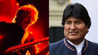 Roger Waters publica video en apoyo a Evo Morales