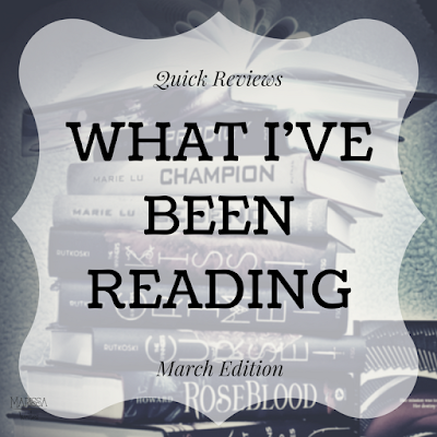 What I've been reading... quick book reviews