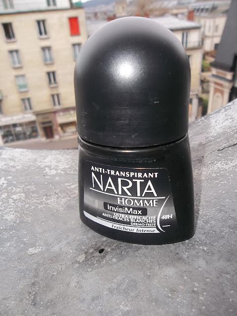 Anti-Transpirant InvisiMax - Narta Homme
