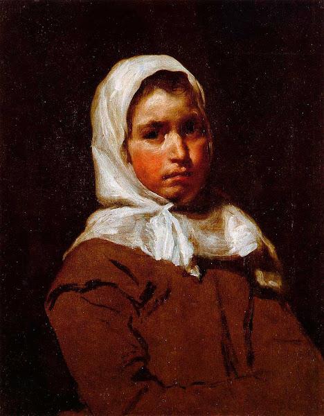 Диего Веласкес - Юная крестьянская девушка (1650)