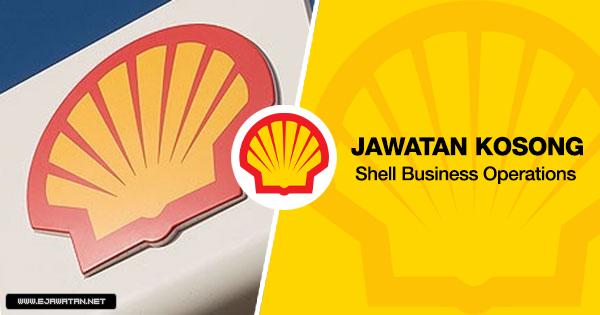 jawatan kosong shell 2020