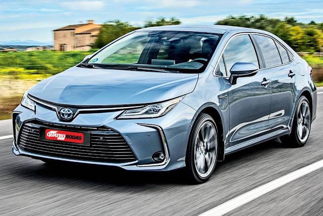 Segredo: novo Toyota Corolla terá motor 2.0 mais forte e freio automático