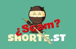 Problemas en Shorte.st con los pagos - Scam