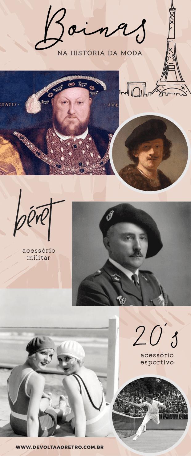 História da boina, história do quepe, Como usar boina, a volta da boina, como usar quepe, beret, moda retrô, moda vintage