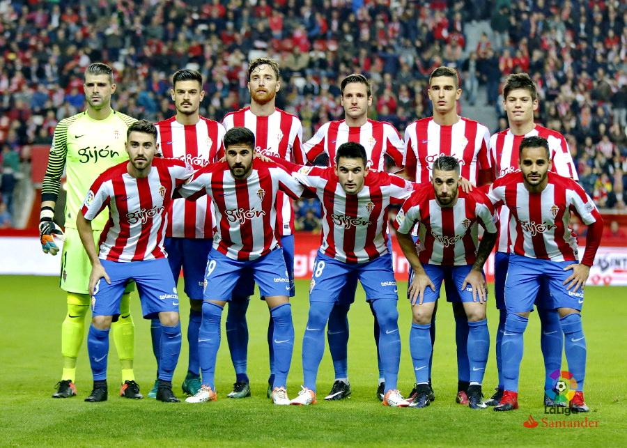 Equipos de f tbol sporting de gij n contra osasuna 04 12 2016 - Estadio del sporting de gijon ...