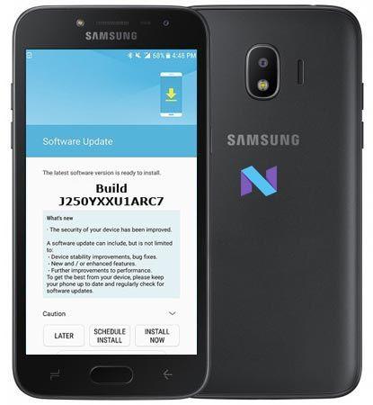 Samsung Galaxy J2 2018 SM-J250Y Combination File Download