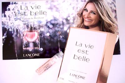"""Échantillon Gratuit du Parfum """"La vie est belle"""" de Lancôme"""