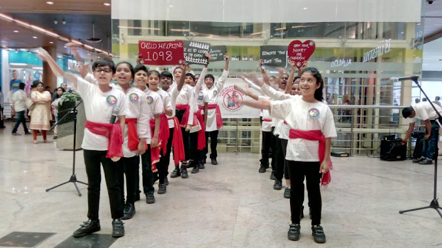 Trio World School takes the theatric route to bring out the evils of Child Labour
