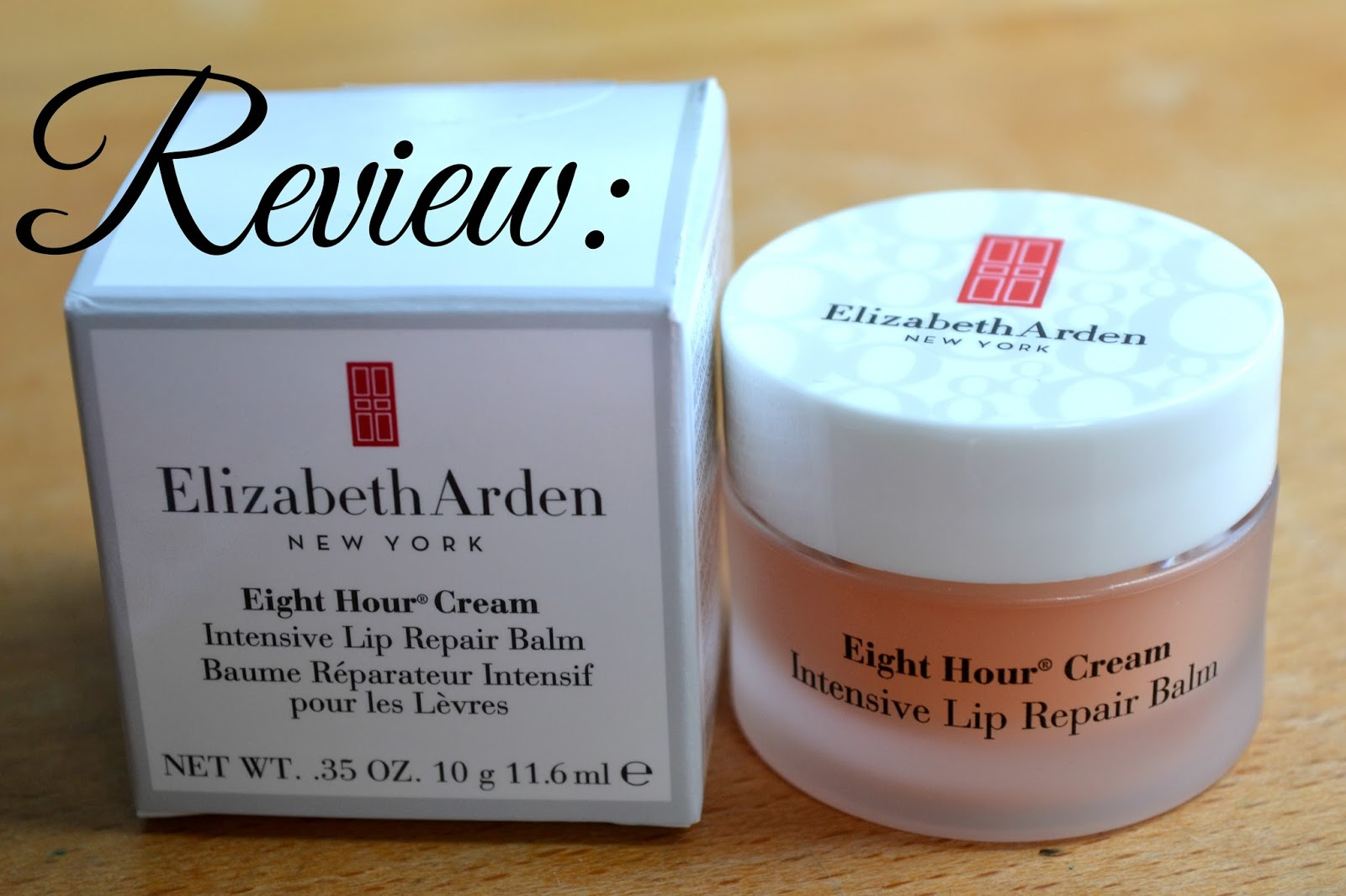 Elizabeth Arden Eight Hour Cream Intensive Lip Repair Balm!