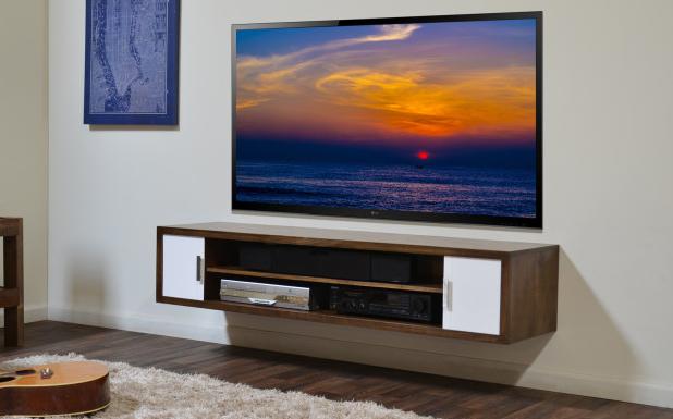 Desain Rak Tv Gantung - Dalam