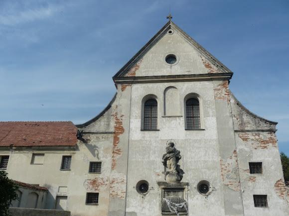Олесько. Костел святого Антонія