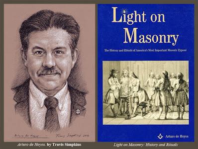 Arturo de Hoyos, 33°, GC. Scottish Rite, SJ. Light on Masonry. by Travis Simpkins