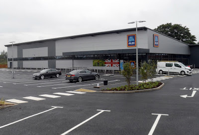 The new Aldi store in Brigg - opening on Thursday, September 24, 2020