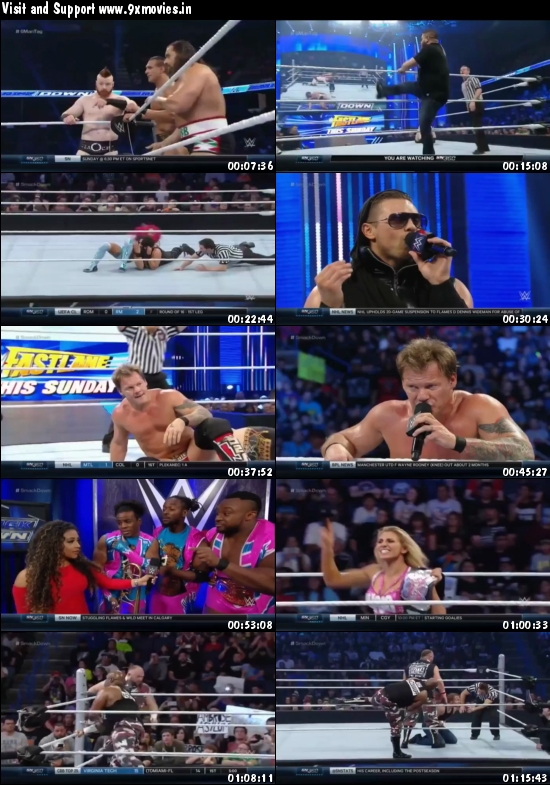 WWE Thursday Night Smackdown 18 Feb 2016 HDTV 480p