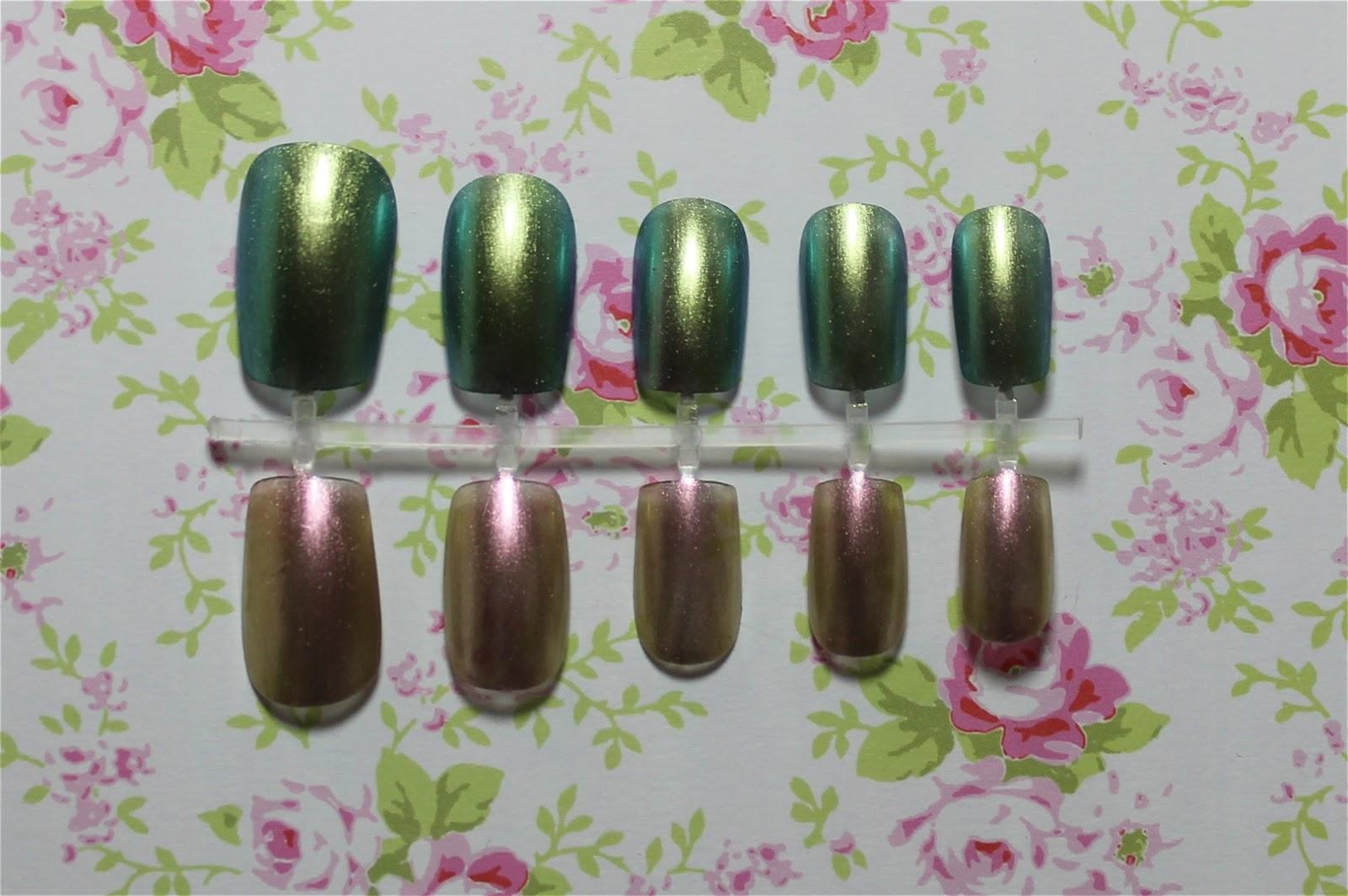 barry m aquarium nail polish swatches