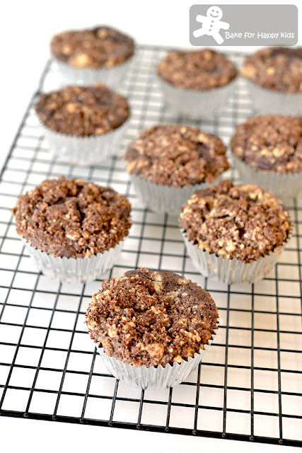Milo crumble muffin