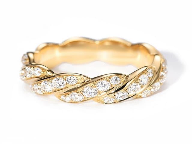 خواتم ذهب رقيقه جدا 5 | Simple gold rings 5