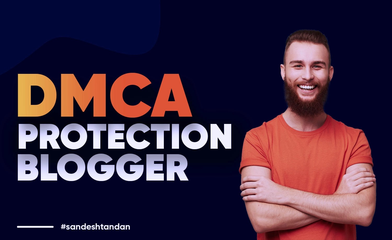 Enable DMCA Protection in a Blogger Site