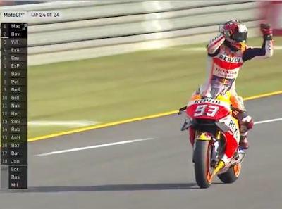 Marquez Menang di MotoGP Jepang, Rossi - Lorenzo Ndlosor
