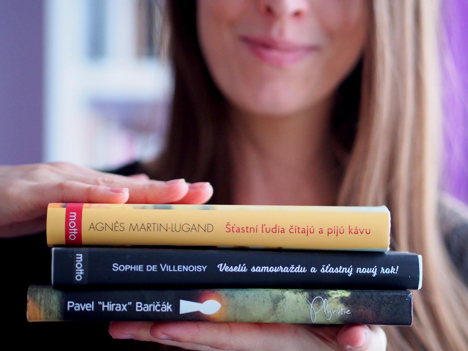 čo čítam: tri knihy, ktoré ma postavili opäť na nohy a to aj bez motivačných citátov
