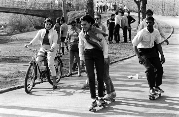 Pictures of Skateboarding in New York City in 1965