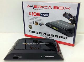 AMERICABOX S305 PLUS NOVA ATUALIZA'ÇÃO V1.33 - 08/06/2021