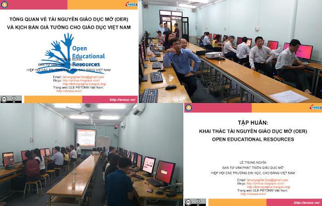 Khóa bồi dưỡng 'Thực hành khai thác tài nguyên giáo dục mở' ở trường Cao đẳng Kỹ thuật Lý Tự Trọng, TP. Hồ Chí Minh