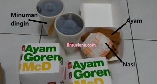 Paket Mantap Ayam McD