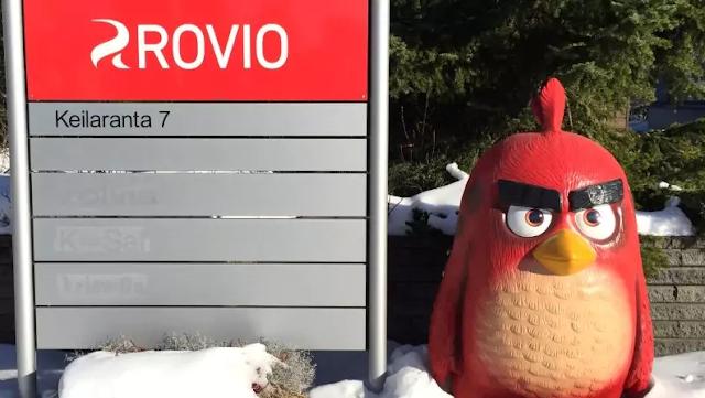 Pembuat GameMobile Angry Birds Rovio Mendapatkan Peningkatan Pendapatan