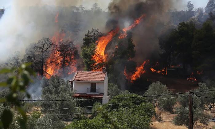 Ανεξέλεγκτη η φωτιά στην Εύβοια: Καίγονται τα πάντα για 3η μέρα! -Χτυπούν καμπάνες για να εγκαταλείψουν τα σπίτια τους