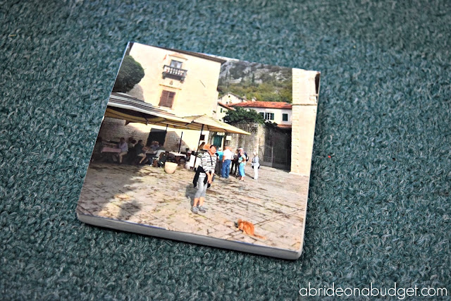 If you want something to do with your Instagram photos, you can make these DIY Instagram Coasters. They're a great way to share your honeymoon photos as well. Plus, they're a great gift idea. Find out how to make them at www.abrideonabudget.com.