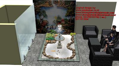 Desain taman surabaya art  | www.jasataman.co.id | Taman relief 3