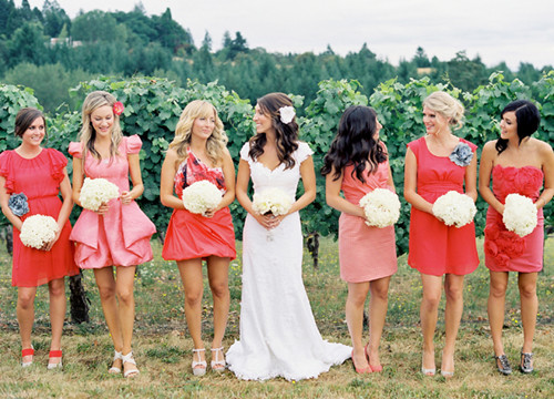 4bcb7caf14 Dress to Surprise  Pick Glamorous Non-Matching Bridesmaid Dresses ...