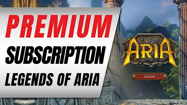 Legends of Aria now has Premium Subscriptions | Legends of Aria News
