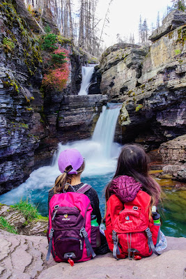 St. Mary Falls, Glacier National Park