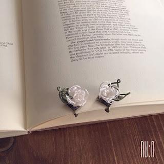Mekik Oya White Rose