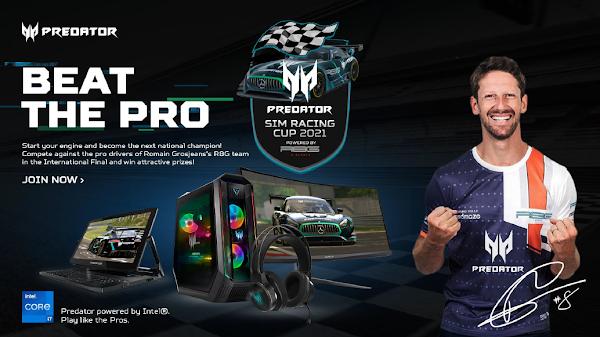 Acer apresenta o Predator Sim Racing Cup 2021