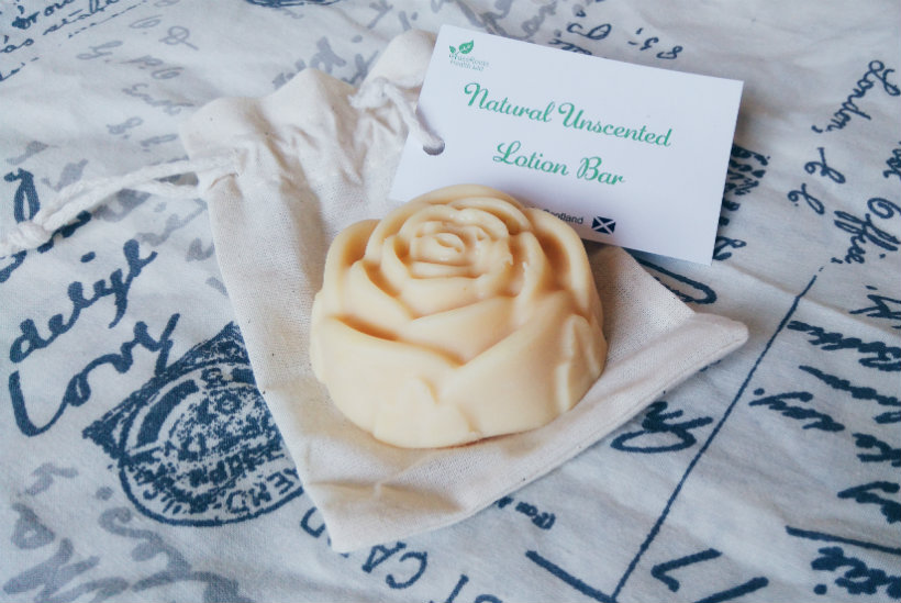 Grassroots Health Unscented Lotion Bar