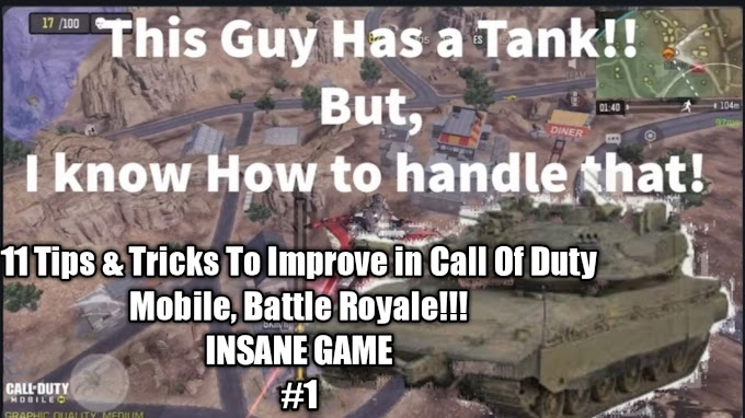 HOW TO WIN EVERY CALL OF DUTY MOBILE BATTLE ROYALE GAME EASILY