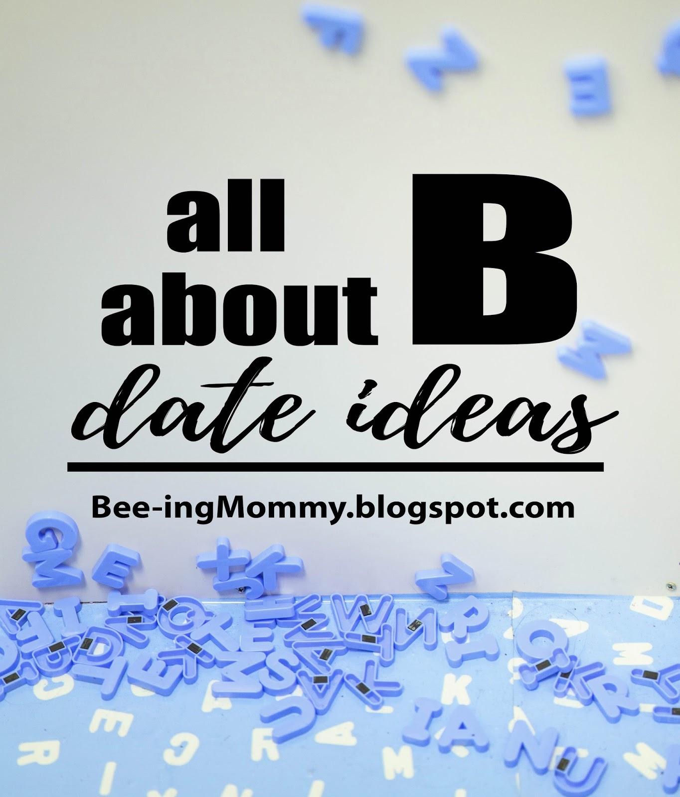 Alphabet Dating Letter B