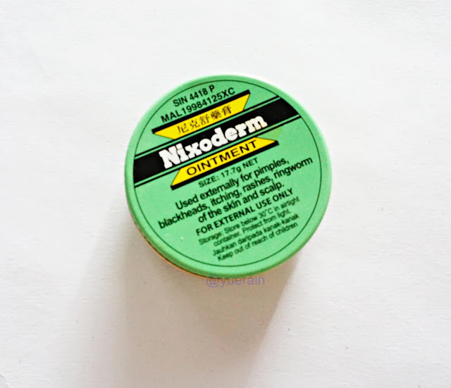 Nixoderm sulfur