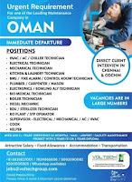 Voltach HR Hiring for Maintenance Company Oman