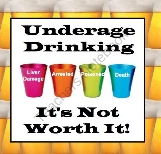 underage drinking enforcing the drinking age essay Lowering the drinking age would help mitigate or reverse these effects with a reliable supply for example, researchers in oregon found that the state spends $33 million a year to enforce its laws against underage drinking if the drinking age were lowered, this money could go other programs.