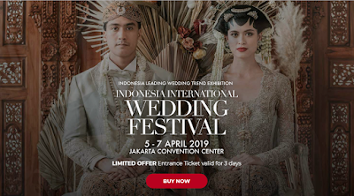 Mug-App Wedding Souvenir di Indonesia International Wedding Festival 2019